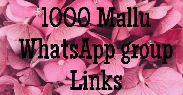 1000+Mallu WhatsApp group Links