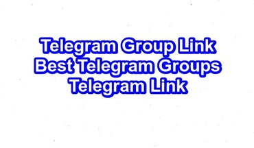 Telegram Group Link | Best Telegram Groups|Telegram Link