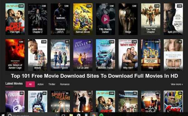 Top 101 Free Movie Downloading Sites To Download Full HD Movies